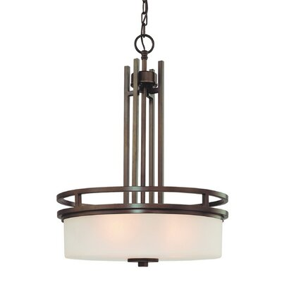 Dolan Designs Multnomah 3 Light Drum Pendant