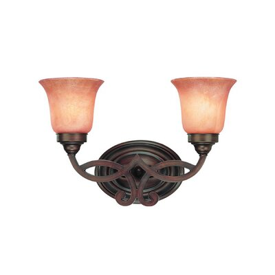 Dolan Designs Medici  Vanity Light  in English Bronze