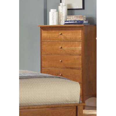 A-America Cherry Garden 5 Drawer Chest