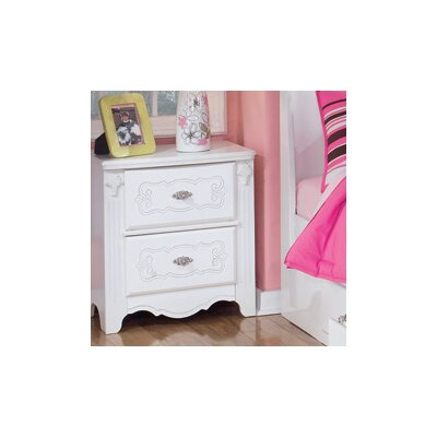 Signature Design by Ashley Lydia 2 Drawer Nightstand