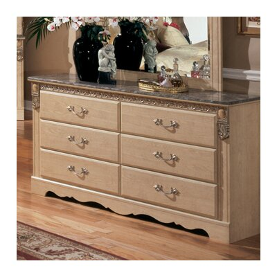 Signature Design by Ashley Sanibel 6 Drawer Dresser