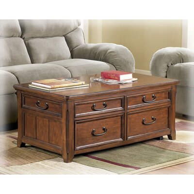 Signature Design by Ashley Woolwich Woodboro Coffee Table Set
