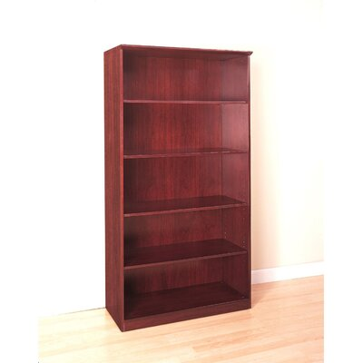 Mayline Group 68&quot; H Five Shelf Bookcase