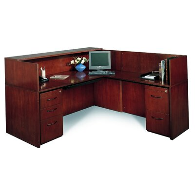 Mayline Group Corsica Reception Desk (Right Configuration)