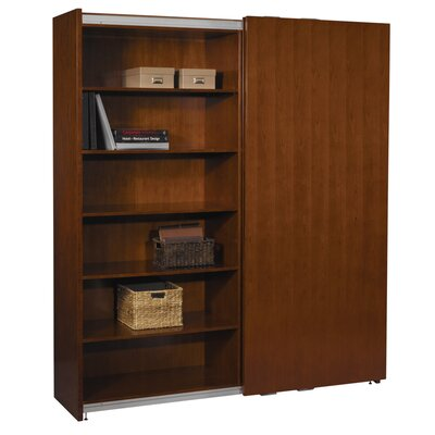 Mayline Group Sorrento Sliding Door Cabinet Bookcase