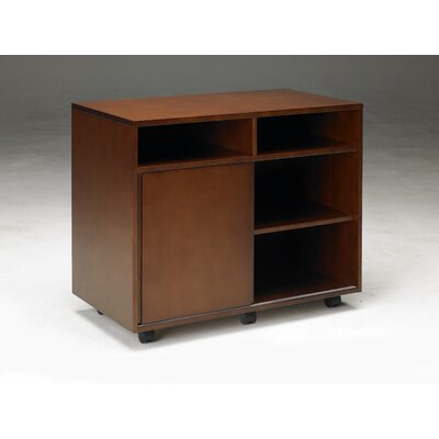 Mayline Group Stella Storage Cabinet in Toffee