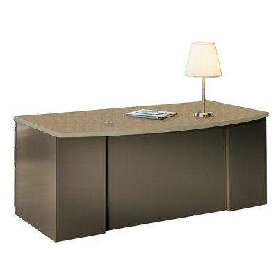 Mayline Group CSII Bow Front Executive Desk