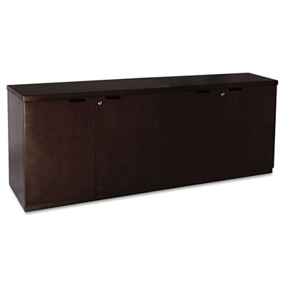 Mayline Group Mira Series Veneer Hinged Door Credenza