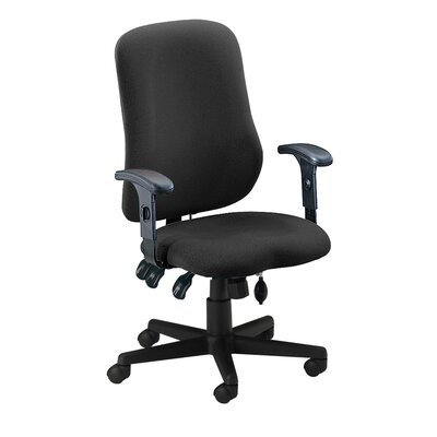 Mayline Group Comfort Contoured High-Back Office Chair with Arms