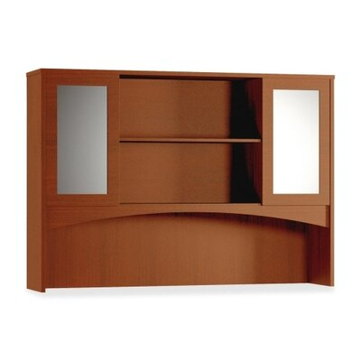 Mayline Group Double Height Hutch with Glass Doors