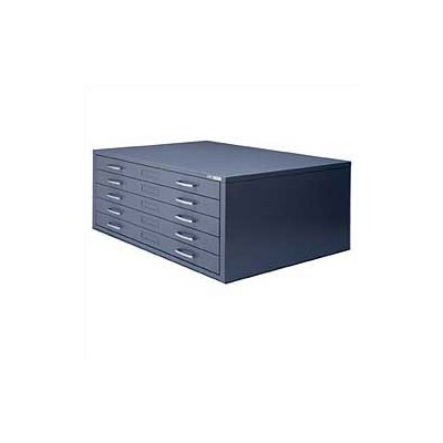 Mayline Group C-File: Five-Drawer Flat File with Optional Base