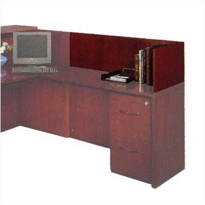 "Mayline Group 14"" H x 48"" W Desk Reception Screen"