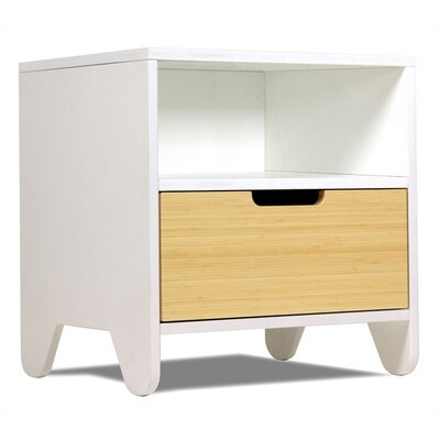 Spot on Square Hiya 1 Drawer Nightstand
