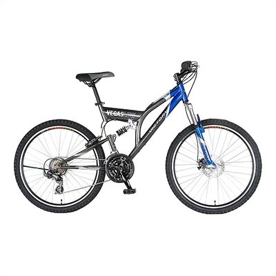 21-Speed Vegas Low Dual Suspension Mountain Bike