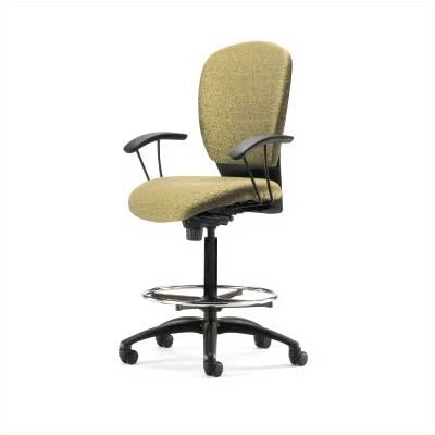 Source Seating Height Adjustable Drafting Stool with Footring