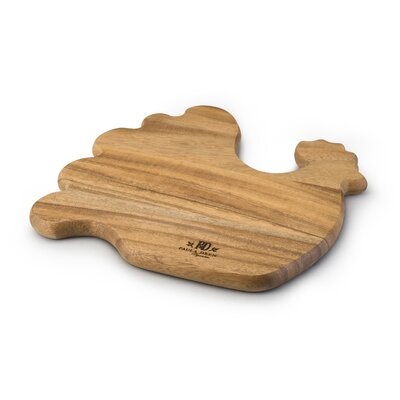 Paula Deen Rooster Shaped Cutting Board