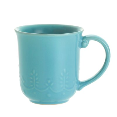 Paula Deen Dinnerware Whitaker 12 oz. Mug (Set of 4)