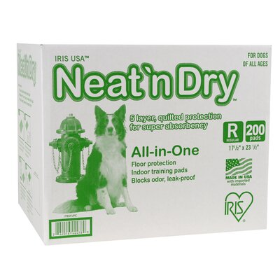 Neat n' Dry Puppy and Dog Training Pad (200 Pack)
