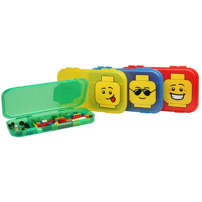 Iris Lego 6 Minifigure Cases Toy Box