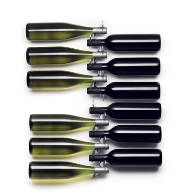 Menu Jakob Wagner 6 Bottle Wall Mounted Wine Rack