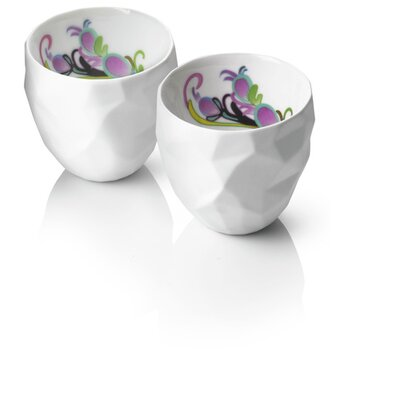 Menu Design by Us Raw Diamonds Espresso Cups (Set of 2)