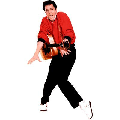 Advanced Graphics Elvis Presley with Guitar Life-Size Cardboard Stand-Up