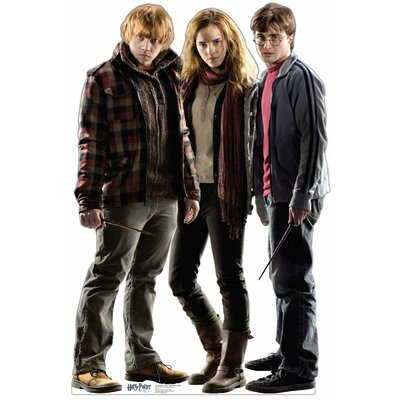 Advanced Graphics Ron, Hermione, Harry Cardboard Stand-Up