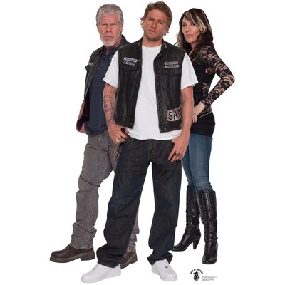 Advanced Graphics Sons of Anarchy Group Cardboard Stand-Up