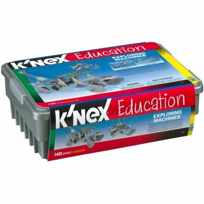 K'NEX Education Exploring Machines Building Set
