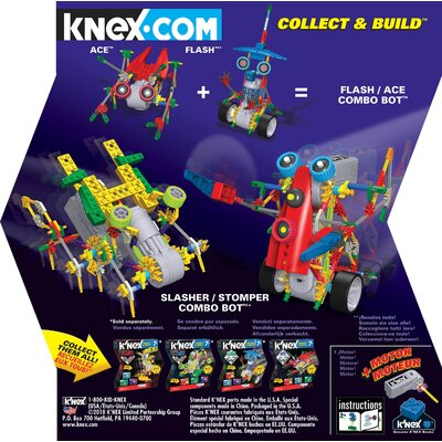 K'NEX Ace Robo Battler Building Set