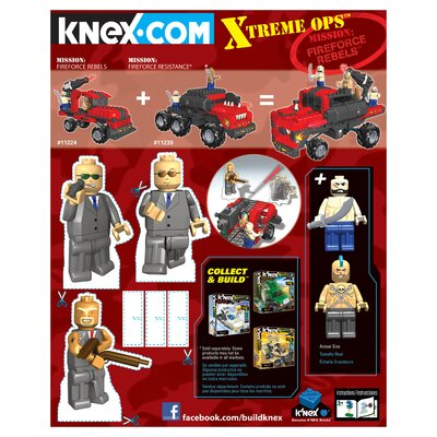 K'NEX C&B Global Defenders: Evil Force Rebels