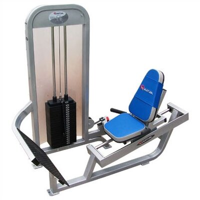 Quantum Fitness I Series Commercial 15 Degree Leg Press/Calf Raise Combination Unit