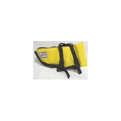 Fido Float Dog Life Jacket in Yellow