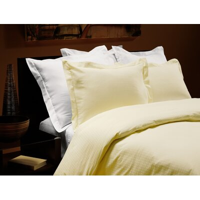Down Inc. Euro Dot Duvet Collection in White, Creme and Glycerin