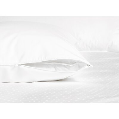 Serenity 360 Thread Count Cotton Sateen Boudoir Zippered Pillow Protector