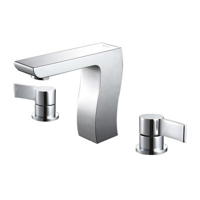Kraus Bathroom Combos Widespread Sonus Faucet with Double Handles