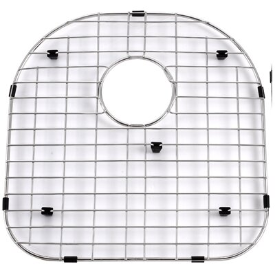 "Kraus Stainless Steel 16.15"" Bottom Grid for Kitchen Sink"