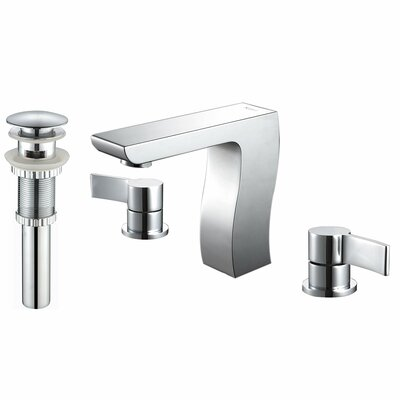 Kraus Bathroom Combos Widespread Waterfall Sonus Faucet with Double Handles