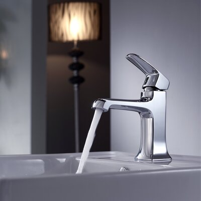 Kraus Bathroom Combos Decorum Faucet with Single Lever Handle