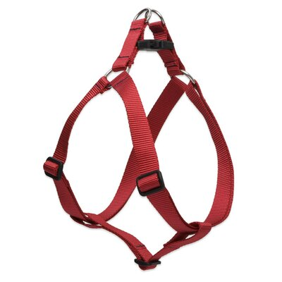"Lupine Pet Solid Color 1"" Adjustable Large Dog Step-In Harness"