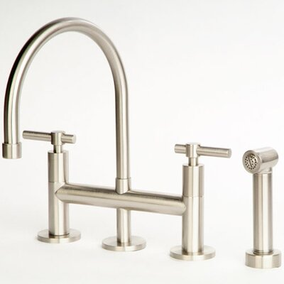 Giagni Dolo Bridge Kitchen Faucet with Spray