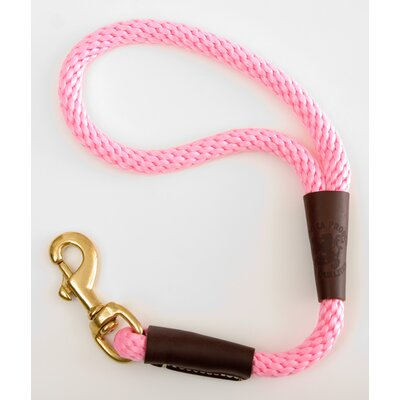 Mendota Traffic Leash in Hot Pink