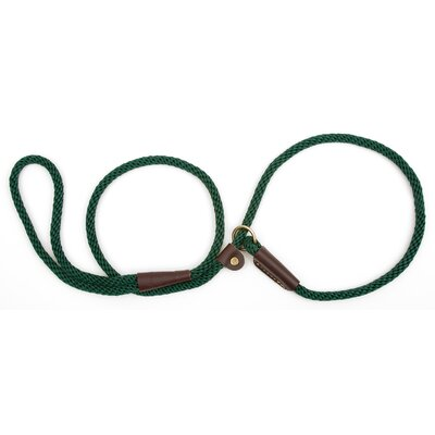 Small Slip Leash in Green