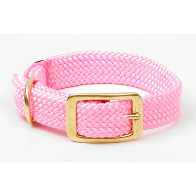Double Braid Collar in Hot Pink
