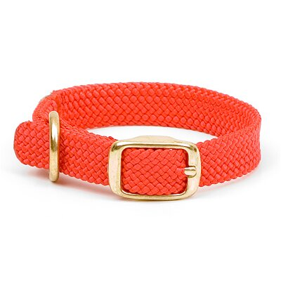 Mendota Double Braid Junior Collar in Red