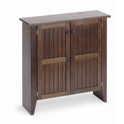 Manchester Wood Double Jelly Cabinet in Chestnut