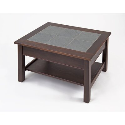 Manchester Wood Coffee Table with Shelf