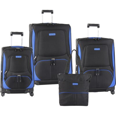 Nautica Downhaul 4 Piece Luggage  Set