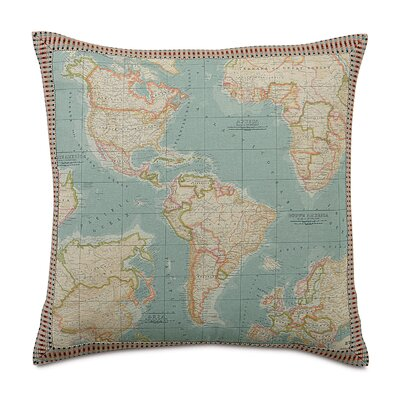 Eastern Accents Kai Monde Border Decorative Pillow