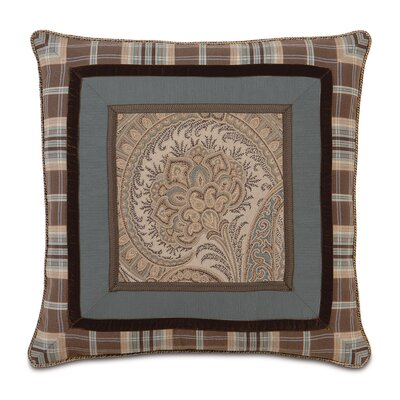 Eastern Accents Powell Polyester Border Collage Decorative Pillow